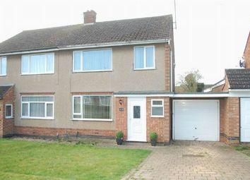 Thumbnail 3 bed semi-detached house for sale in Knightcliffe Way, Duston, Northampton