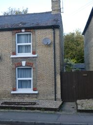 Thumbnail 2 bed semi-detached house to rent in Station Road, Soham