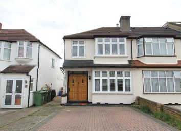 Thumbnail 3 bed end terrace house for sale in Sunbury Road, North Cheam, Sutton