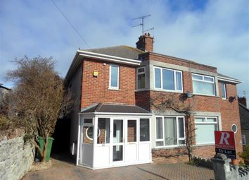 Thumbnail Semi-detached house to rent in Everest Road, Weymouth, Dorset