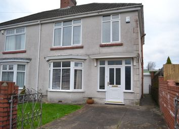 Thumbnail 2 bed end terrace house to rent in Gendros Crescent, Gendros, Swansea