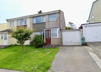 Thumbnail 3 bed semi-detached house for sale in St. Peters Way, Porthleven, Helston