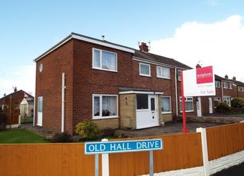 Thumbnail 4 bedroom semi-detached house for sale in Old Hall Drive, Bamber Bridge, Preston, Lancashire