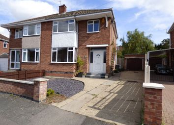 Thumbnail 3 bed semi-detached house to rent in Hibbert Close, Rugby