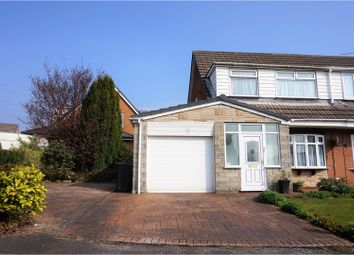 Thumbnail 3 bed semi-detached house for sale in Norfolk Close, Little Lever, Bolton