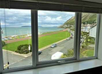 Thumbnail 2 bed flat for sale in Promenade, Llanfairfechan