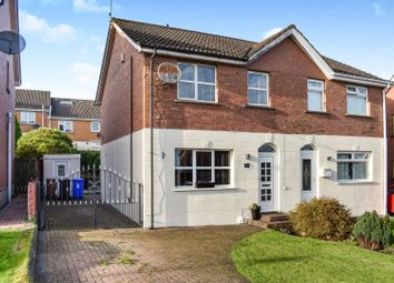 Thumbnail 3 bed semi-detached house for sale in Lyndhurst Place, Belfast