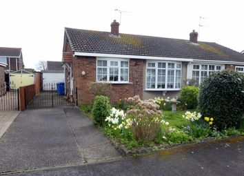 Thumbnail 2 bed bungalow for sale in Andersons Close, Hedon