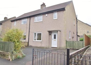 Thumbnail 2 bed semi-detached house for sale in Moorbottom Road, Illingworth, Halifax