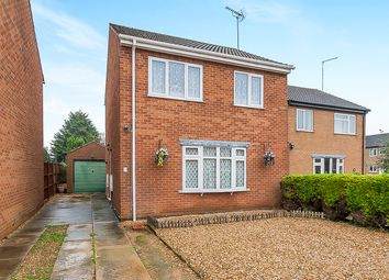 Thumbnail 3 bed detached house for sale in Medlock Crescent, Spalding
