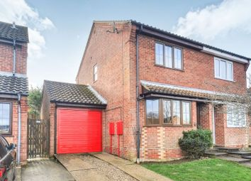 Thumbnail 2 bed semi-detached house for sale in Valley Gardens, North Walsham