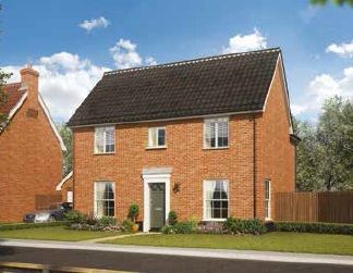 Thumbnail 4 bedroom detached house for sale in Land Off Common Road, Snettisham, Norfolk