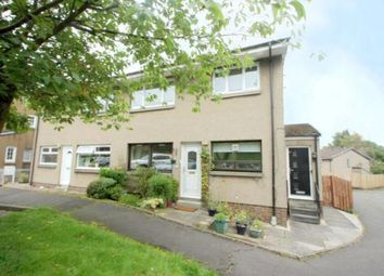 Thumbnail 2 bed flat for sale in Gateside Crescent, Airdrie, North Lanarkshire