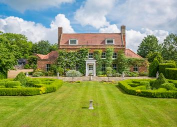Thumbnail 5 bed farmhouse for sale in Suffolk, Kirby Cane, Near Bungay Equestrian/Lifestyle Property