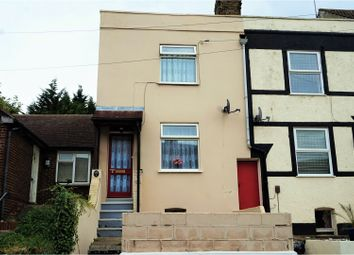 Thumbnail 2 bedroom end terrace house for sale in Constitution Road, Chatham