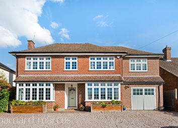 Thumbnail 5 bedroom detached house for sale in Longdown Lane North, Epsom