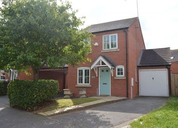 Thumbnail 3 bed link-detached house to rent in Squirrel Close, Grange Park, Northampton