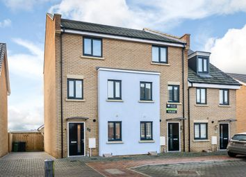 Thumbnail 4 bedroom town house for sale in Ron Hill Road, Norwich, Norfolk