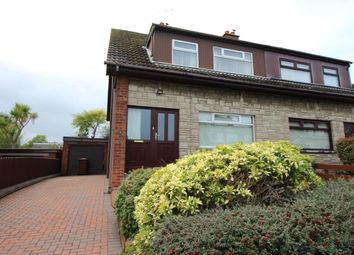 Thumbnail 3 bed semi-detached house for sale in Milebush Crescent, Carrickfergus