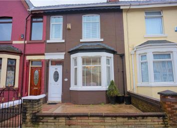 Thumbnail 3 bed terraced house for sale in Cedar Road, Liverpool