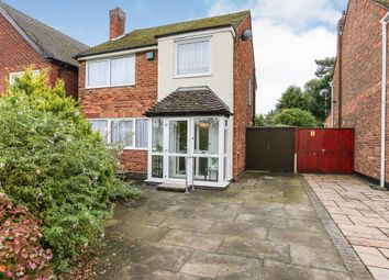 3 bed detached house for sale in Fox Hollies Road, Hall Green, Birmingham B28