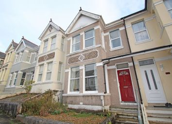 Thumbnail 3 bed terraced house for sale in Ganna Park Road, Peverell, Plymouth.