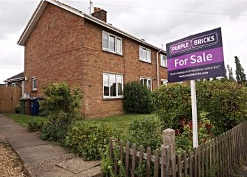 Thumbnail 3 bedroom semi-detached house for sale in Glebe Close, March