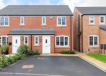 Thumbnail 3 bed semi-detached house for sale in Stirrup Close, Leigh, Greater Mancheter.