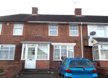 Thumbnail 3 bedroom terraced house to rent in Church Lane, Kitts Green, Birmingham