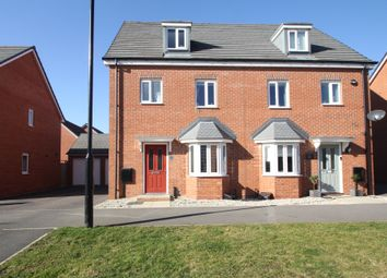Thumbnail 4 bed semi-detached house for sale in Astoria Drive, Bannebrook Park, Coventry