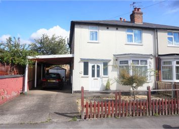 Thumbnail 3 bed semi-detached house for sale in Clumber Avenue, Nottingham
