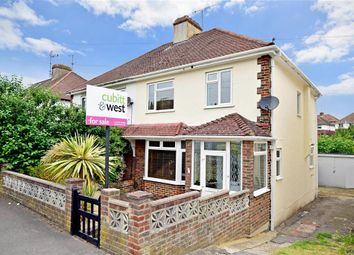 Thumbnail 3 bed semi-detached house for sale in Dale Drive, Brighton, East Sussex