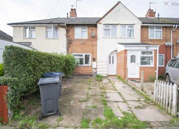 Thumbnail 4 bed terraced house for sale in Holcombe Road, Tyseley, Birmingham