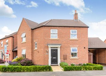 Thumbnail 3 bedroom detached house for sale in Cooper Crescent, Whetstone, Leicester