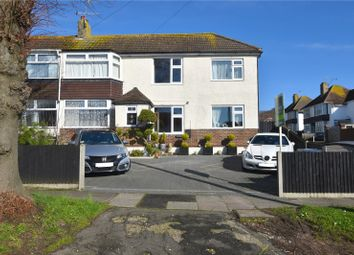 Thumbnail 5 bed semi-detached house for sale in Fircroft Avenue, North Lancing, West Sussex