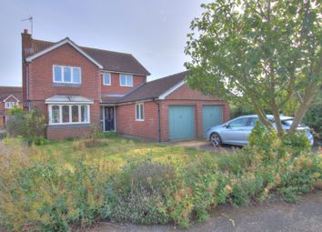 Thumbnail 4 bed detached house for sale in Swallows Drive, Stathern, Melton Mowbray