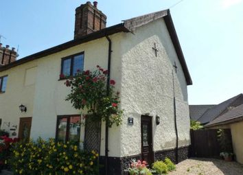 Thumbnail 2 bedroom cottage to rent in Holmere Cottages, The Green, Ashill