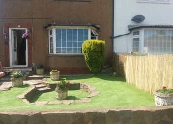 Thumbnail 1 bed semi-detached house to rent in Llandudno Road, Cardiff