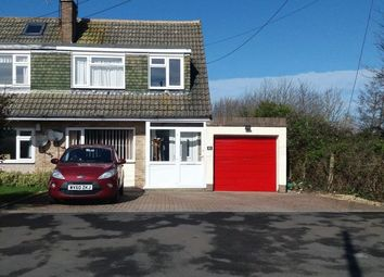 Thumbnail 3 bed semi-detached house for sale in Old Banwell Road, Locking Village, Weston-Super-Mare