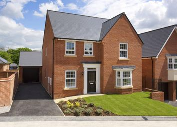 "Thumbnail 4 bed detached house for sale in ""Holden"" at Millgarth Court, School Lane, Collingham, Wetherby"