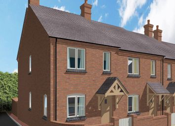 Thumbnail 3 bed town house for sale in Plot 4, Rock View Close, Whitwick