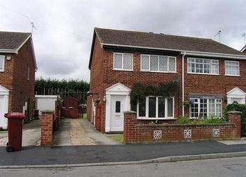 Thumbnail 3 bed semi-detached house to rent in Goodwood, Scunthorpe