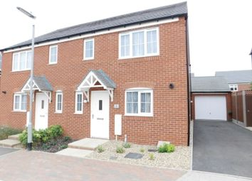 Thumbnail 3 bed semi-detached house for sale in Chaffinch Green, Lower Stondon, Henlow, Beds
