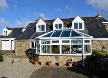 Thumbnail 3 bed semi-detached house for sale in Porthcurno, Churchtown, Penzance, Cornwall