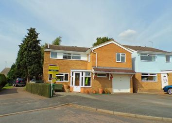 Thumbnail 5 bed detached house for sale in Crediton Close, Wigston, Leicestershire