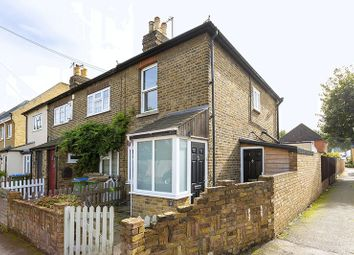 Thumbnail 2 bed end terrace house to rent in Rushett Road, Thames Ditton