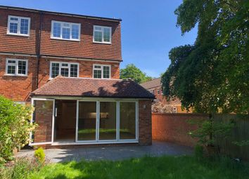 Thumbnail 4 bed semi-detached house to rent in Fieldhead Gardens, Bourne End