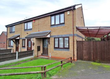 Thumbnail 2 bed town house for sale in Lakeland Avenue, Hucknall, Nottingham
