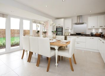 "Thumbnail 4 bed detached house for sale in ""Millford"" at Croft Drive, Moreton, Wirral"