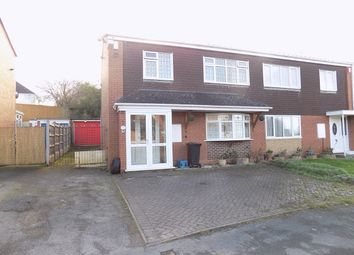 Thumbnail 3 bed semi-detached house to rent in Chalfont Place, Stourbridge